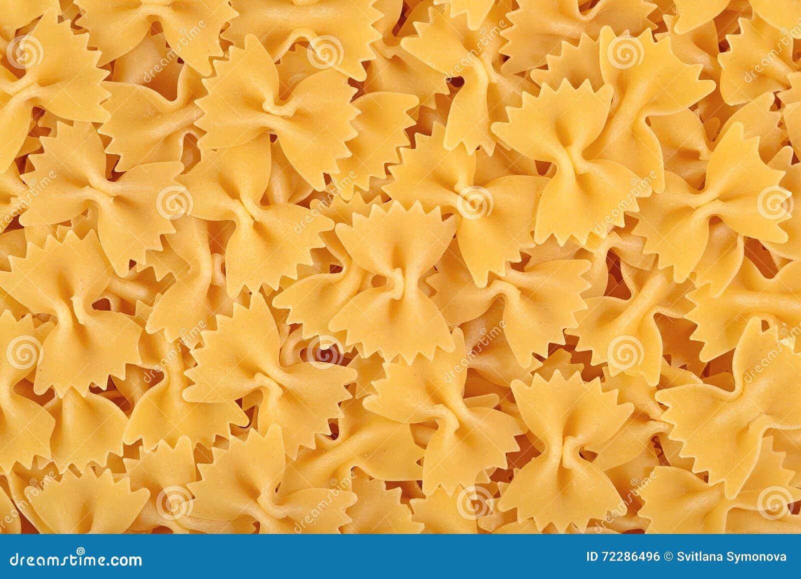 Download Итальянская предпосылка Farfalle макаронных изделий Стоковое Фото - изображение насчитывающей vegetarian, диетпитание: 72286496