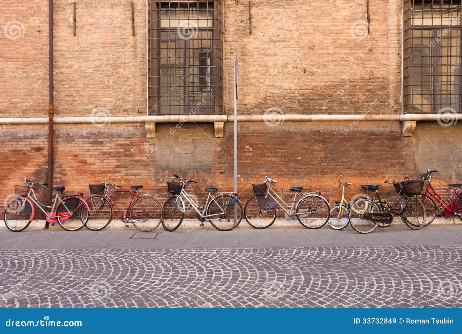 Итальянские прежние велосипеды