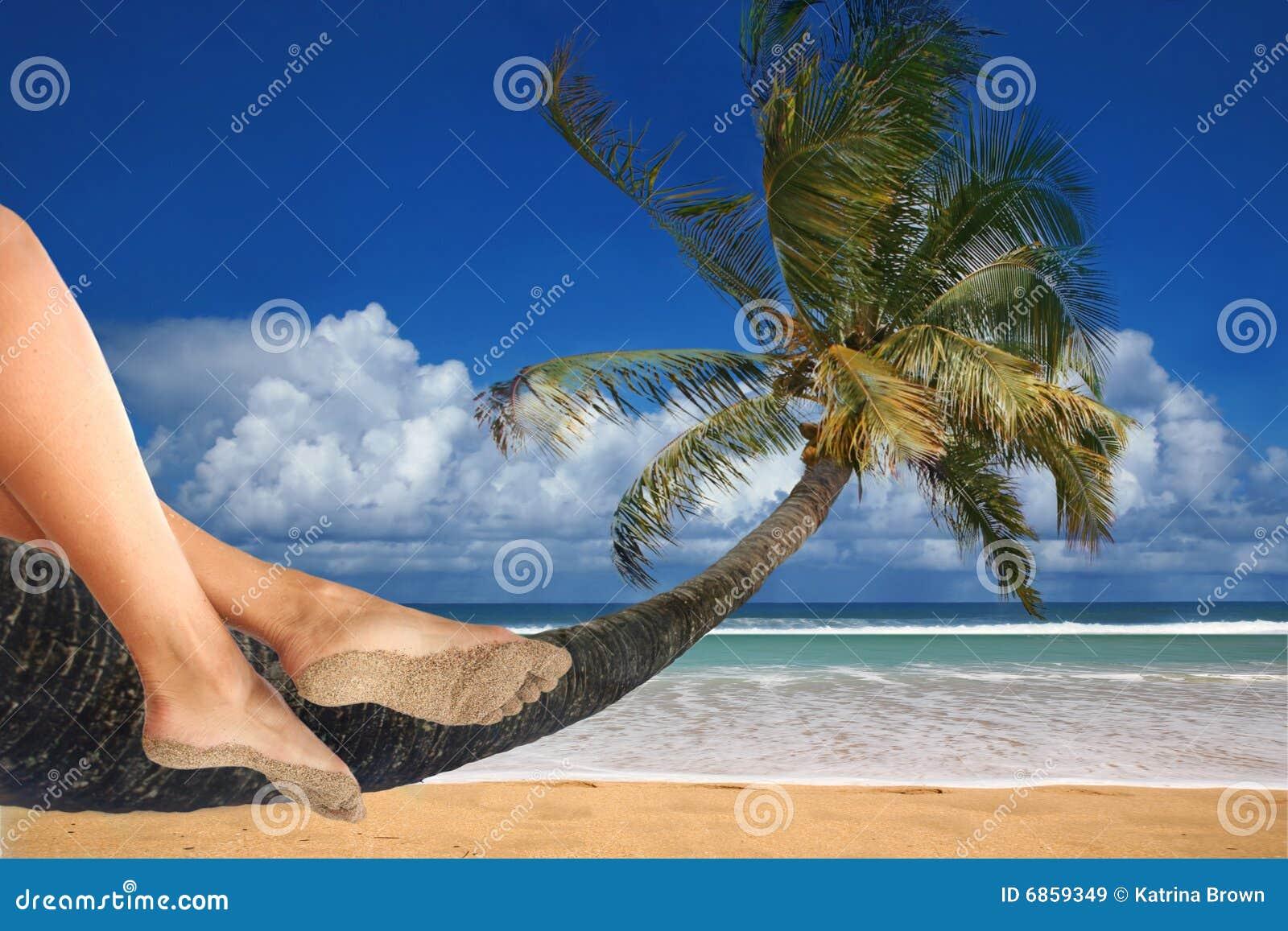 итог релаксации пляжа