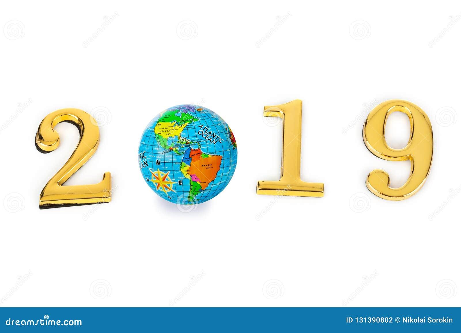 2019 и глобус