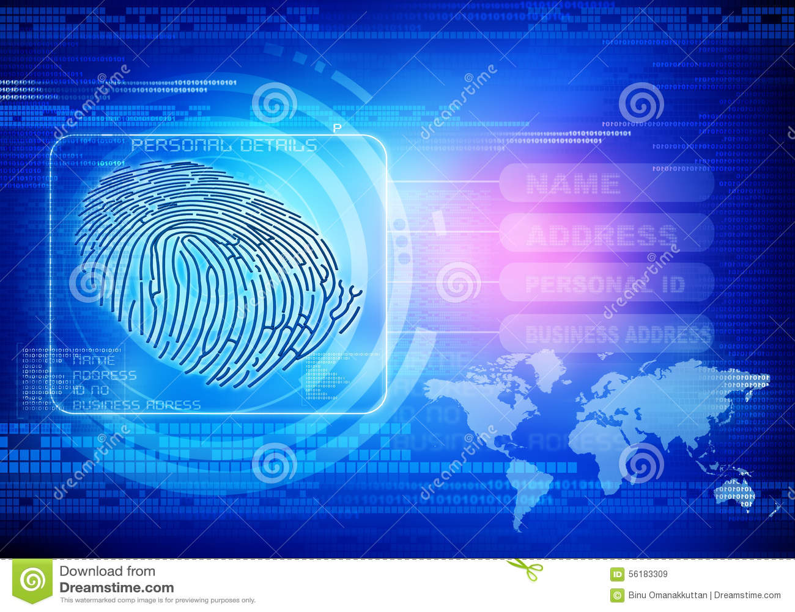Идентичность отпечатка пальцев