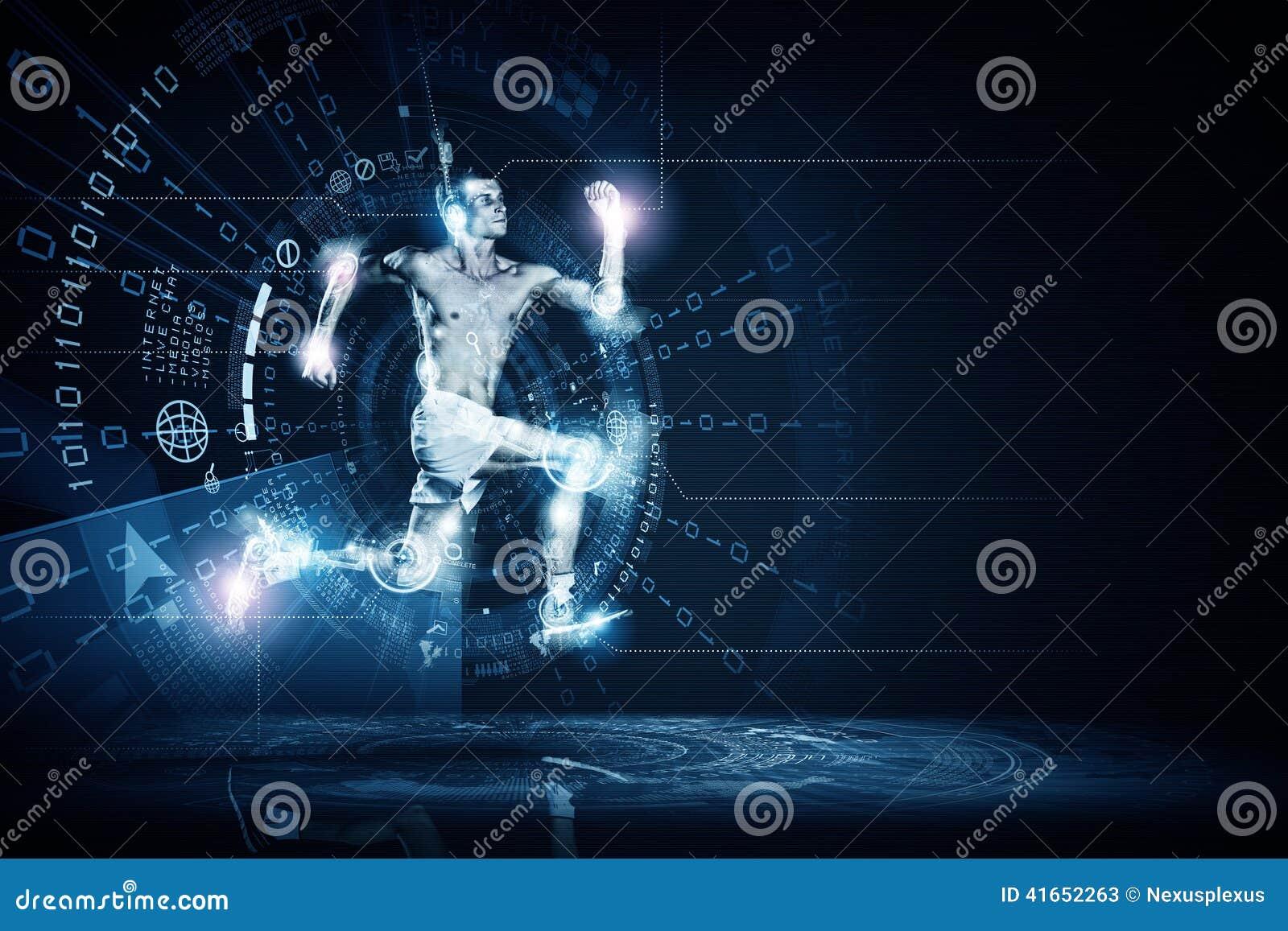 Идущий человек