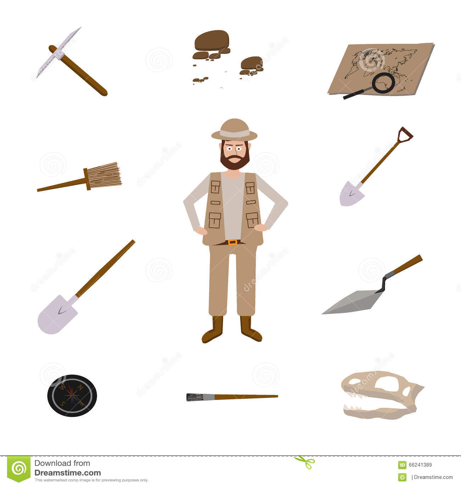 Предметы которые нужны археологу картинки, мальчику
