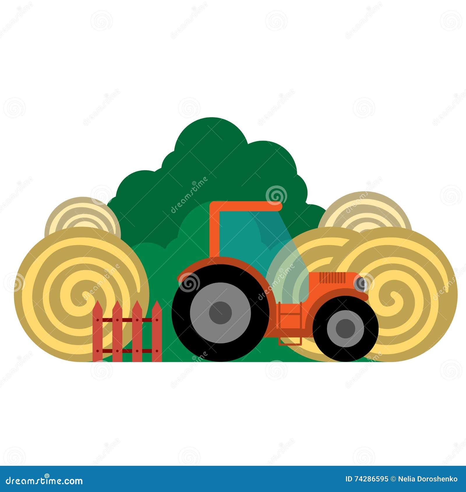 Иллюстрация вектора фермы