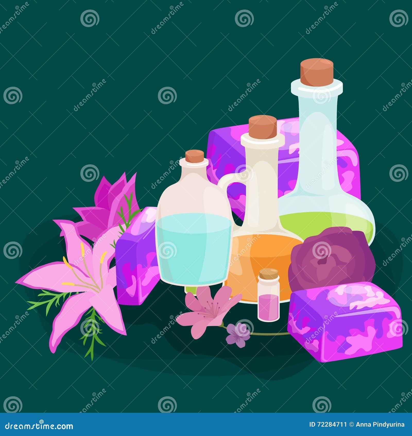 Download Иллюстрация естественного Handmade вектора мыла и оливок Иллюстрация вектора - иллюстрации насчитывающей элементы, чисто: 72284711
