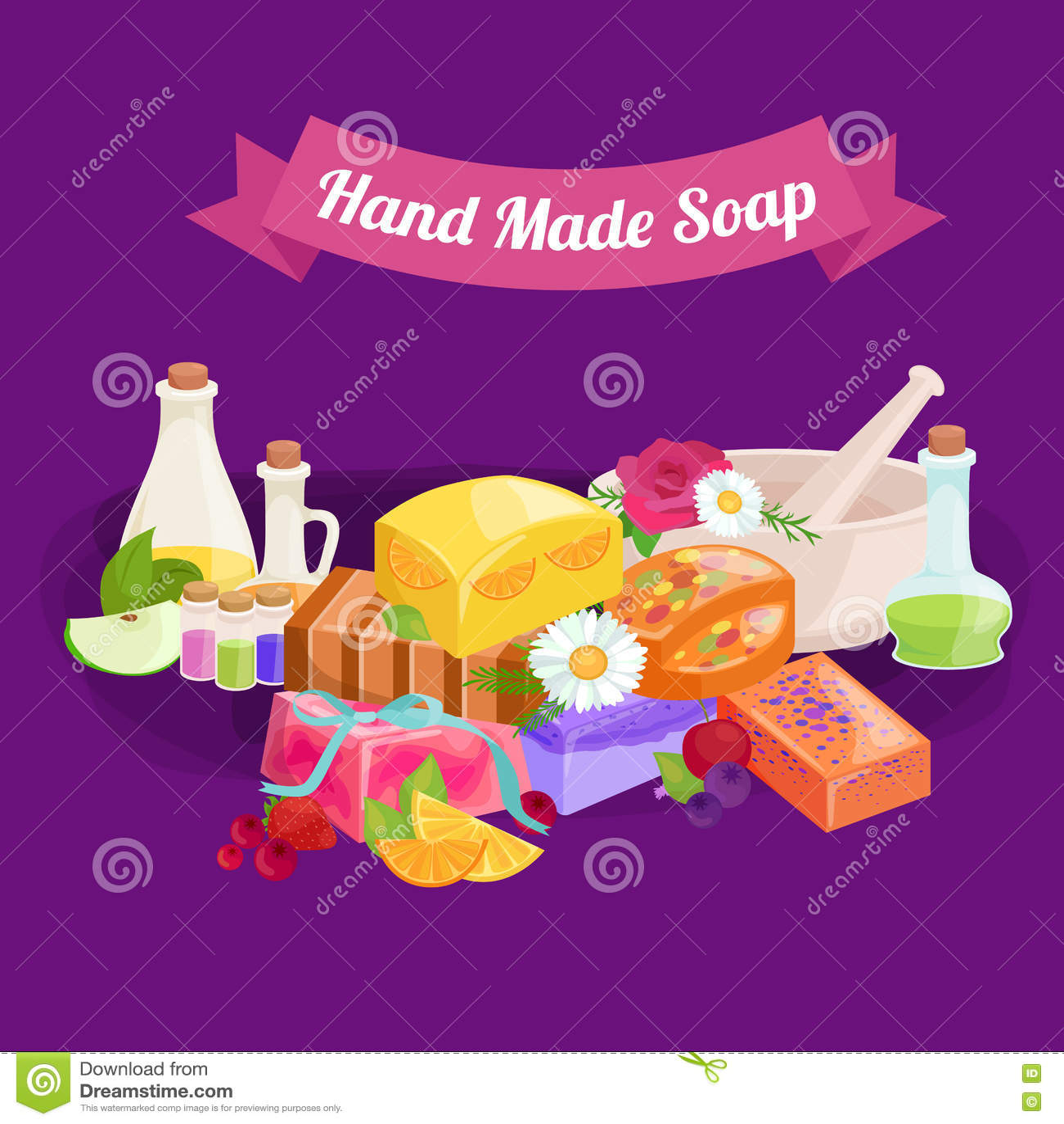 Download Иллюстрация естественного Handmade вектора мыла и оливок Иллюстрация вектора - иллюстрации насчитывающей здорово, рука: 72284979
