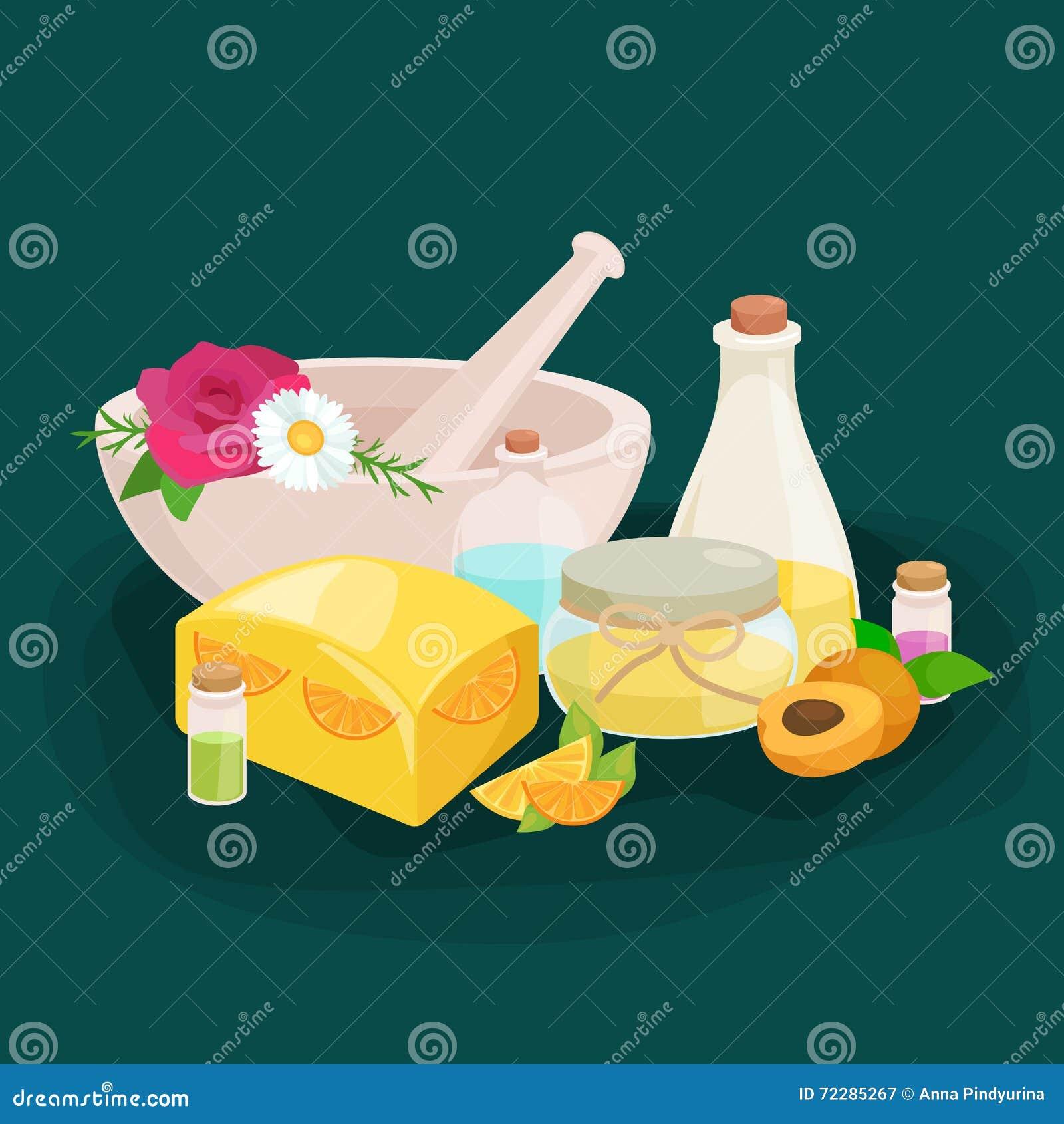 Download Иллюстрация естественного Handmade вектора мыла и оливок Иллюстрация вектора - иллюстрации насчитывающей handmade, бобра: 72285267