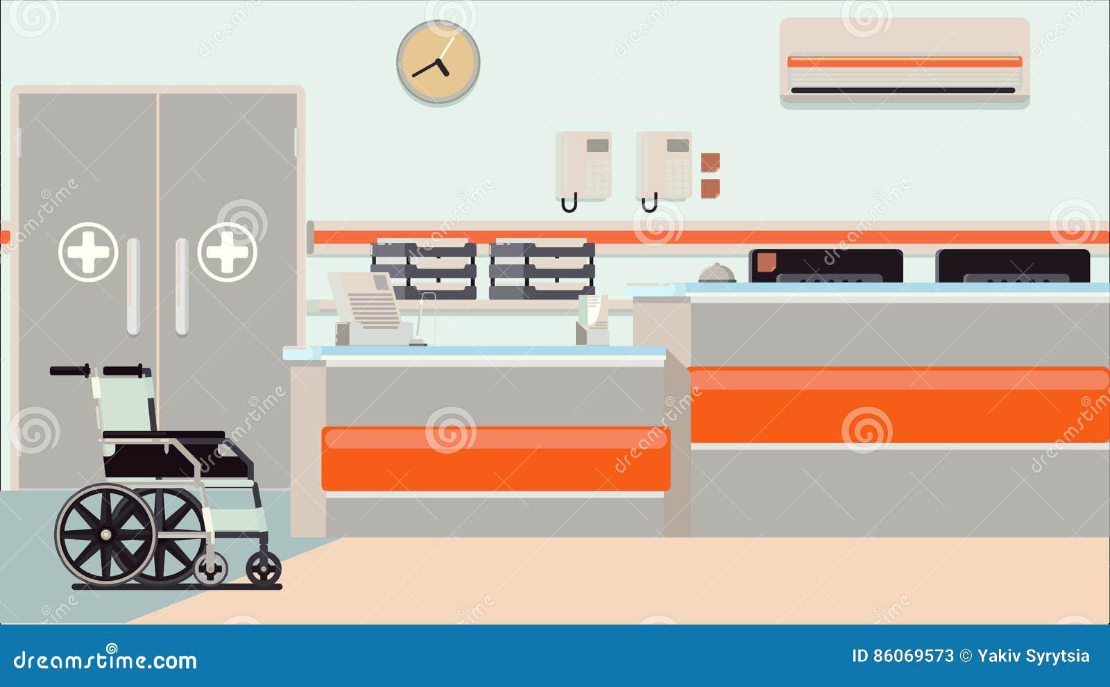 Иллюстрация приема больницы