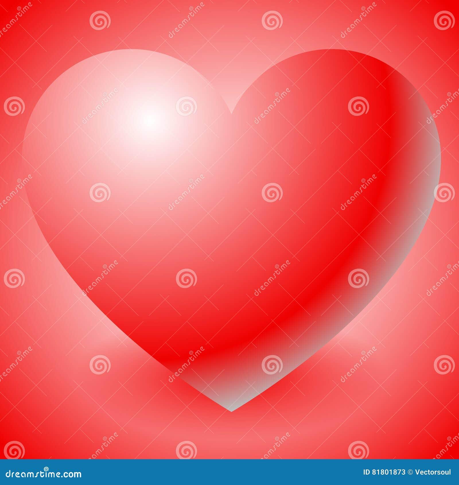 Иллюстрация с формой сердца Влюбленность, привязанность, день ` s валентинки