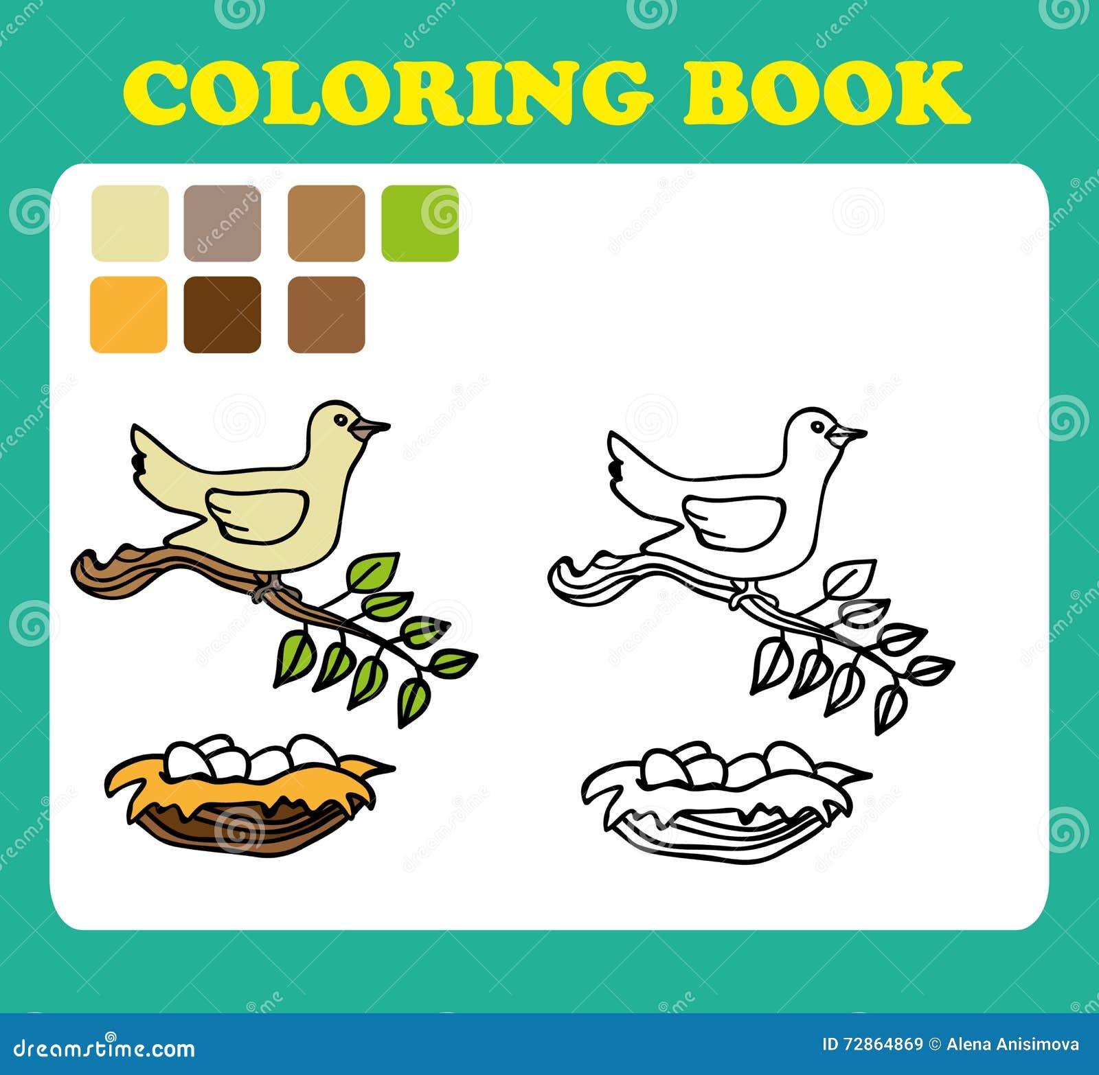 иллюстрация шаржа книжка раскраски или страницы смешной