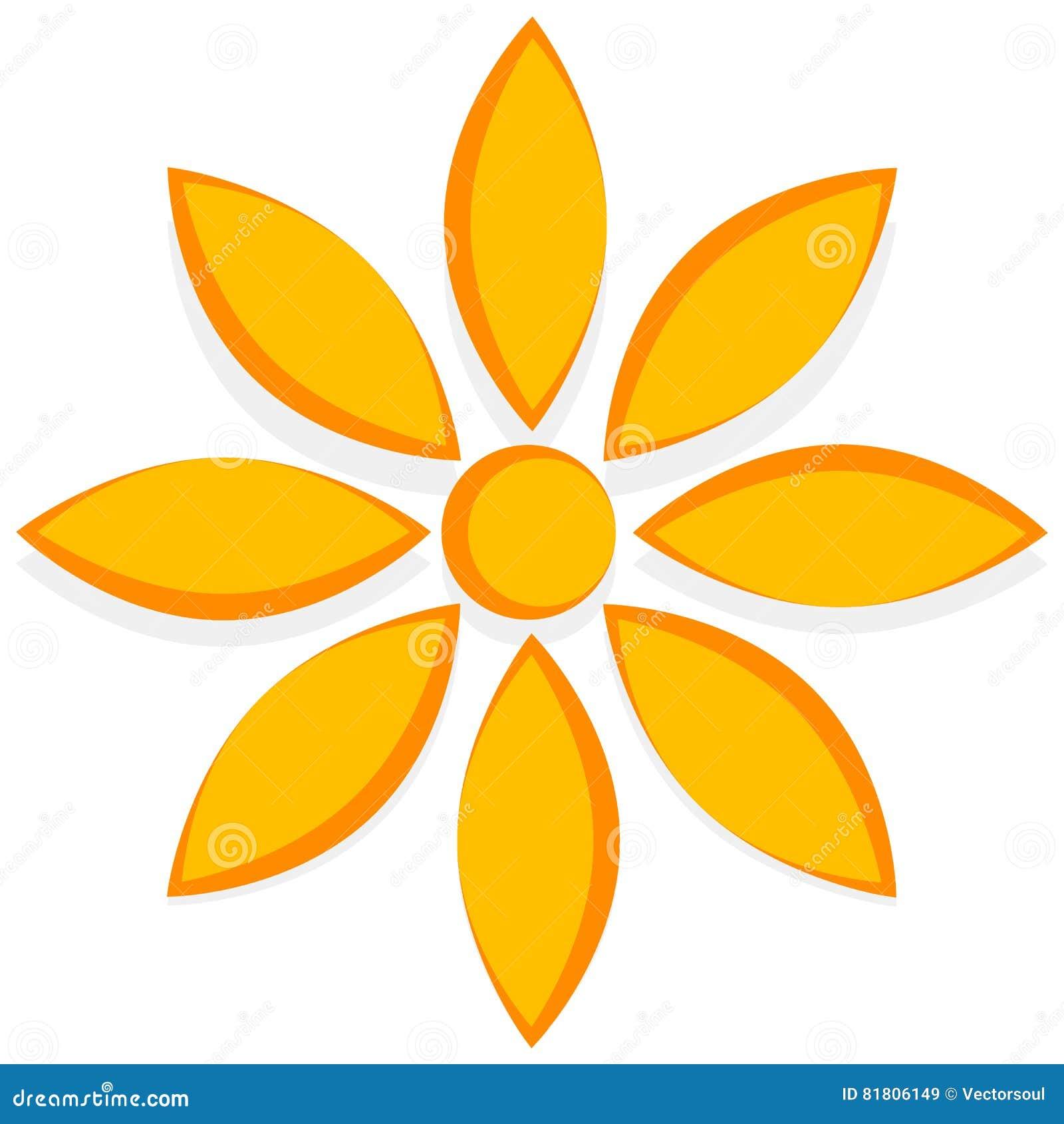 Иллюстрация для природы связала концепции с мотивом цветка