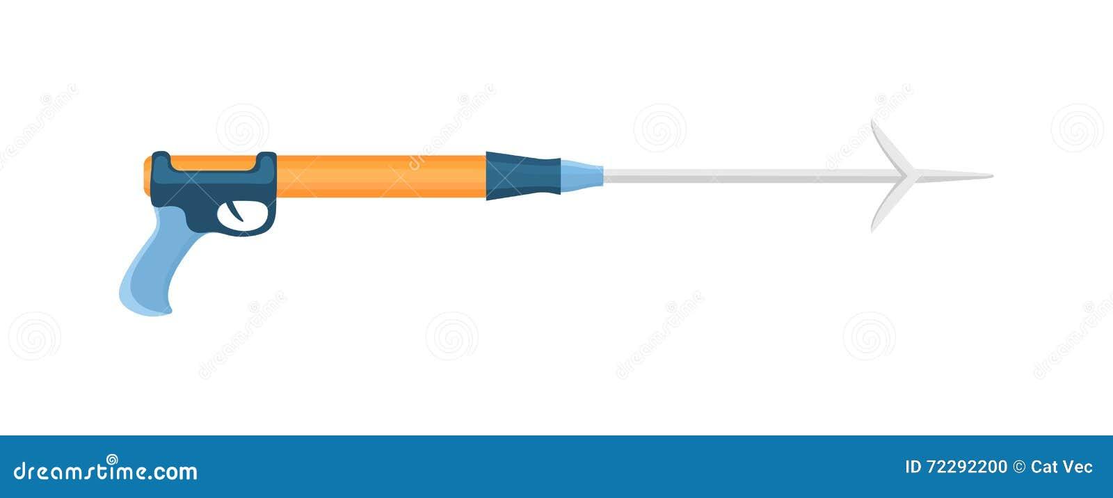 Download Иллюстрация Speargun иллюстрация штока. иллюстрации насчитывающей сила - 72292200