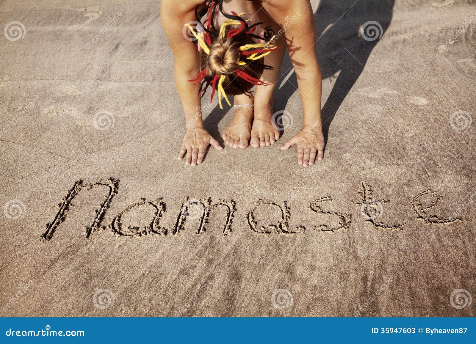 Йога на пляже с Namaste