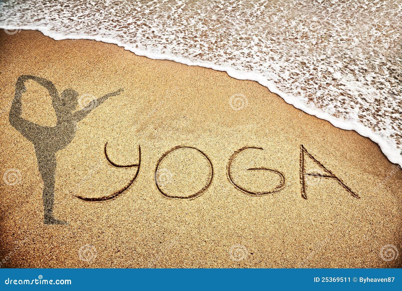 йога песка