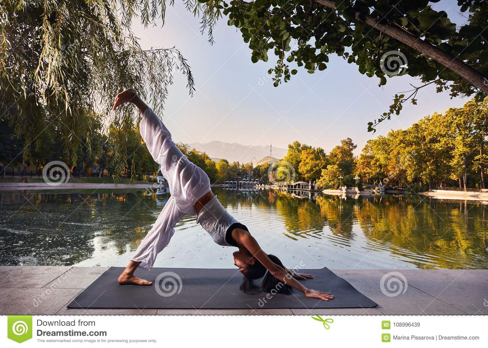 йога темы спорта съемки парка кобры напольная