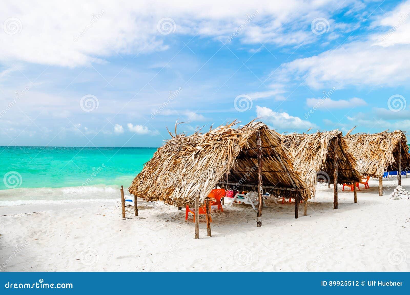 Кабина на пляже Baru - Cartagena в Колумбии