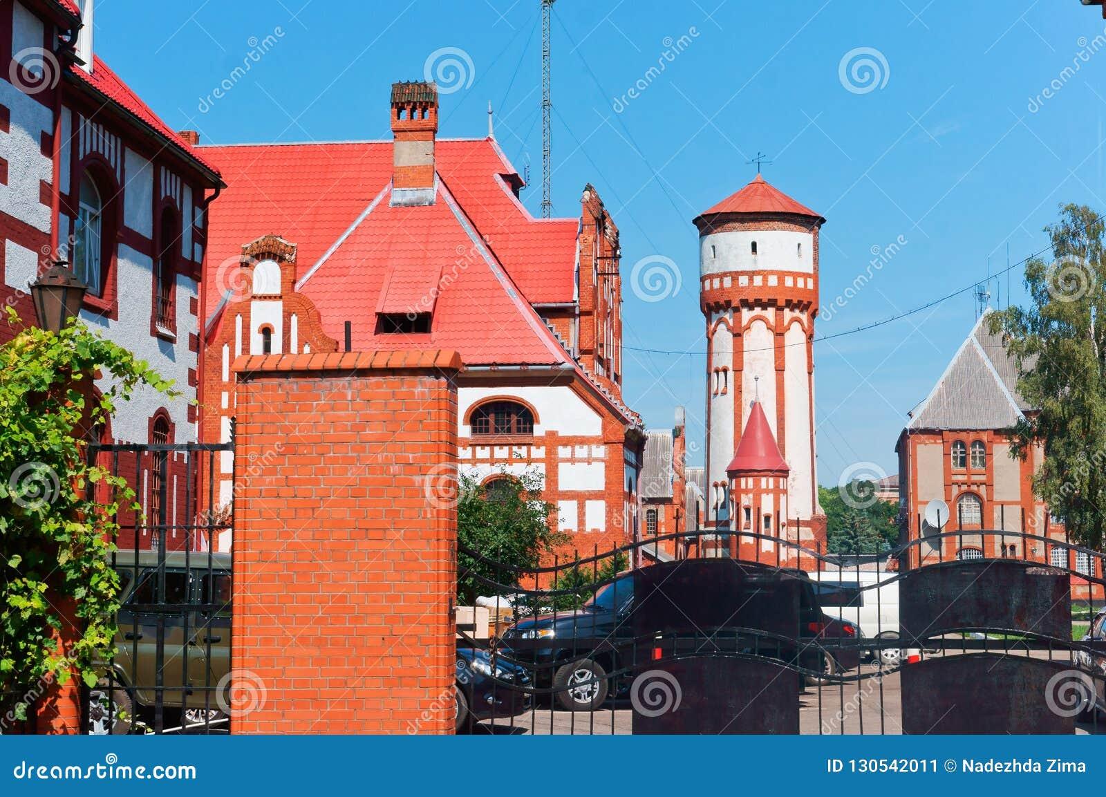 Казармы пехоты водонапорной башни, здание прибалтийского флота Российской Федерации
