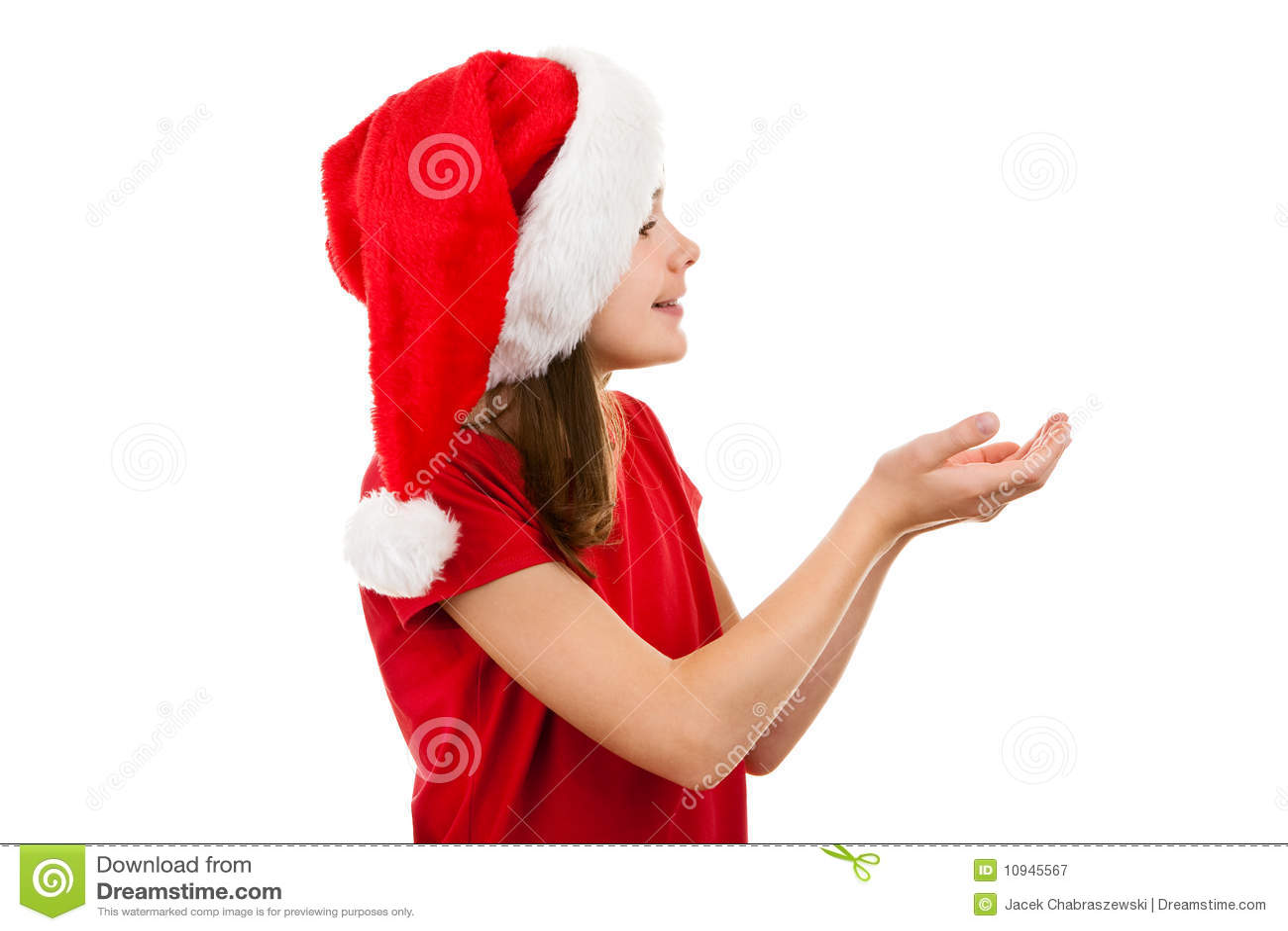 как девушка santa claus