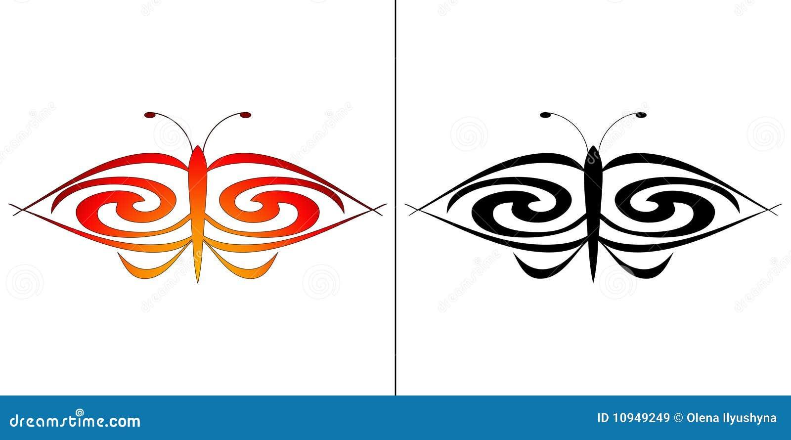 как tattoo бабочки совершенный