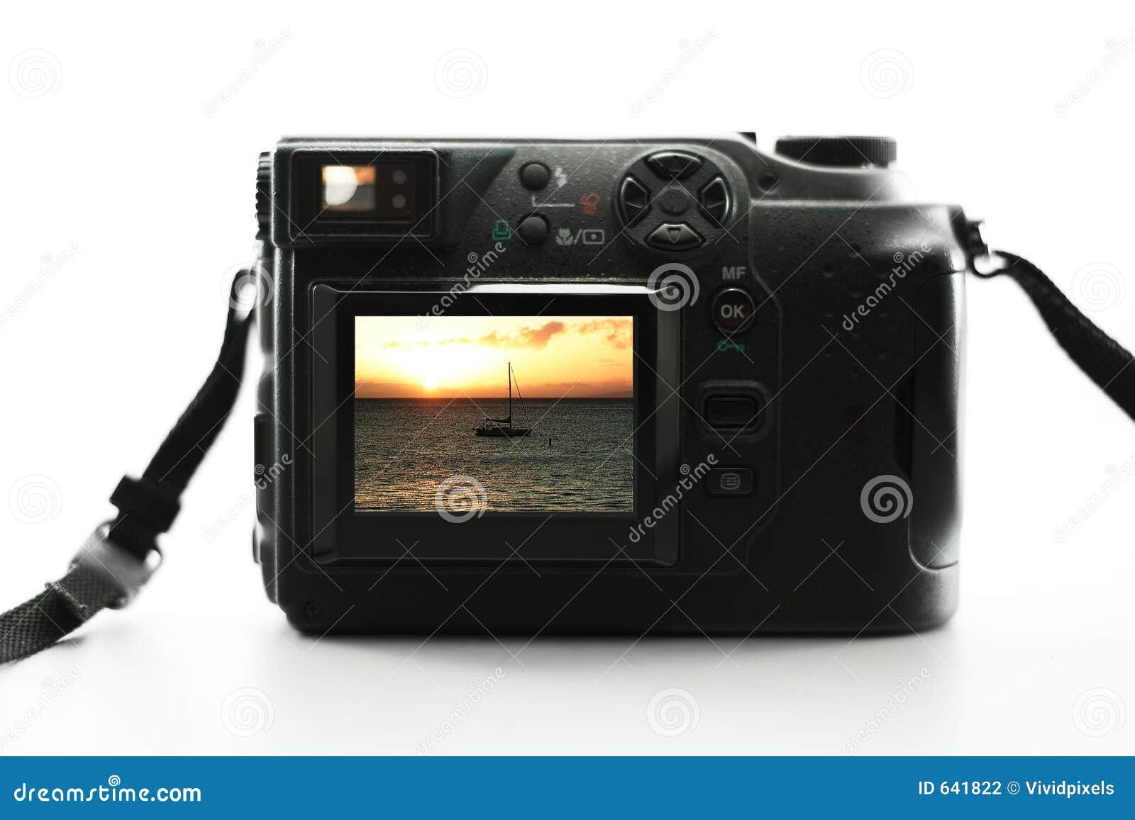 Download камера цифровая стоковое фото. изображение насчитывающей отдых - 641822
