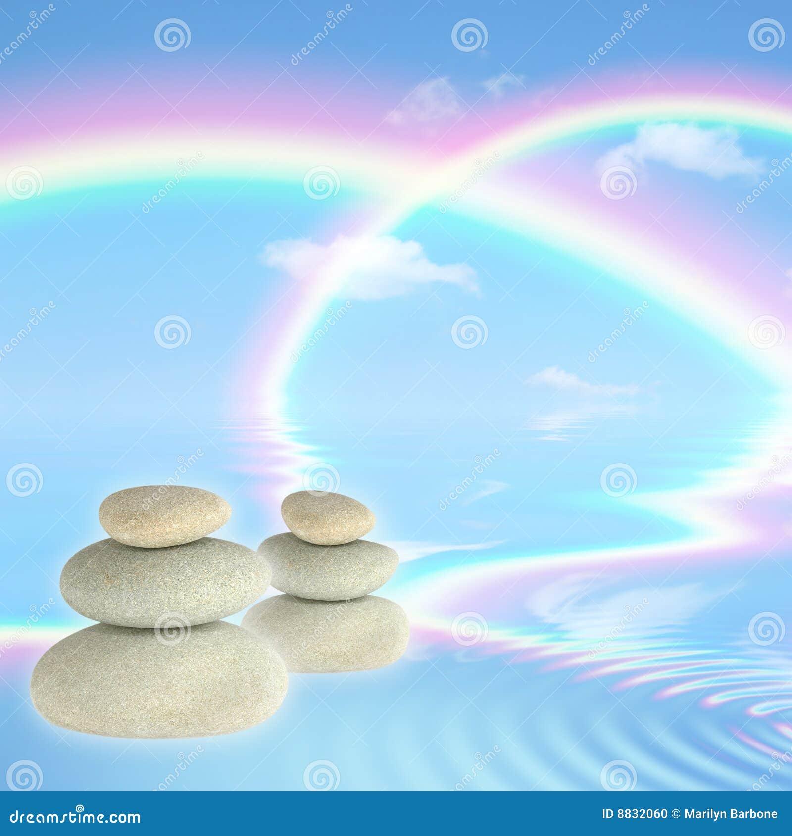 камни спы радуг