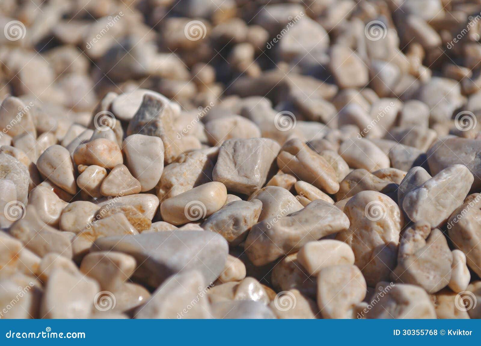 Камушки пляжа
