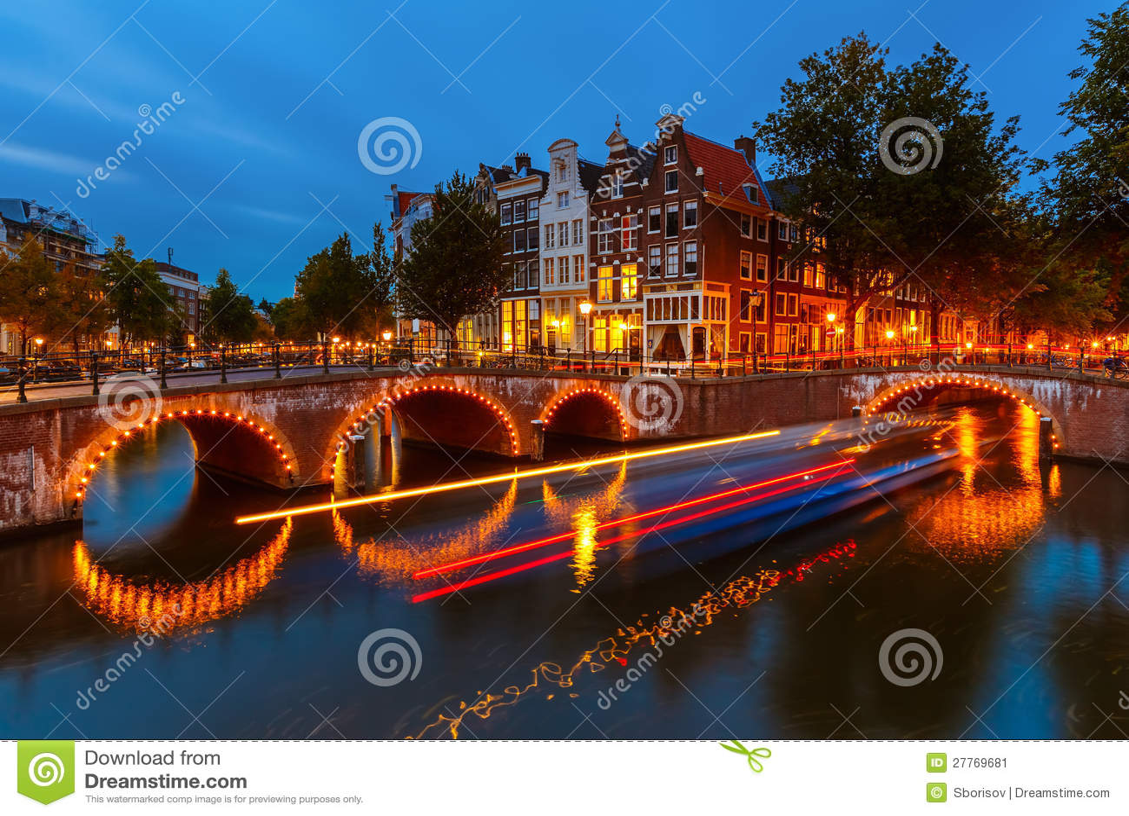 Каналы в Амстердам