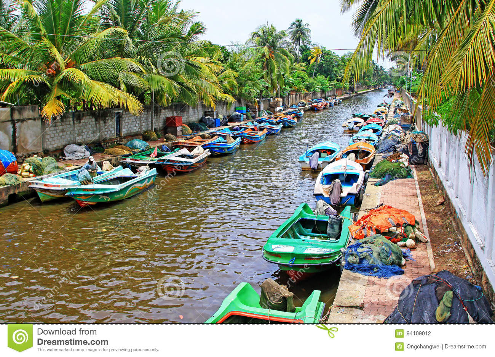 Канал Гамильтона, Negombo Шри-Ланка