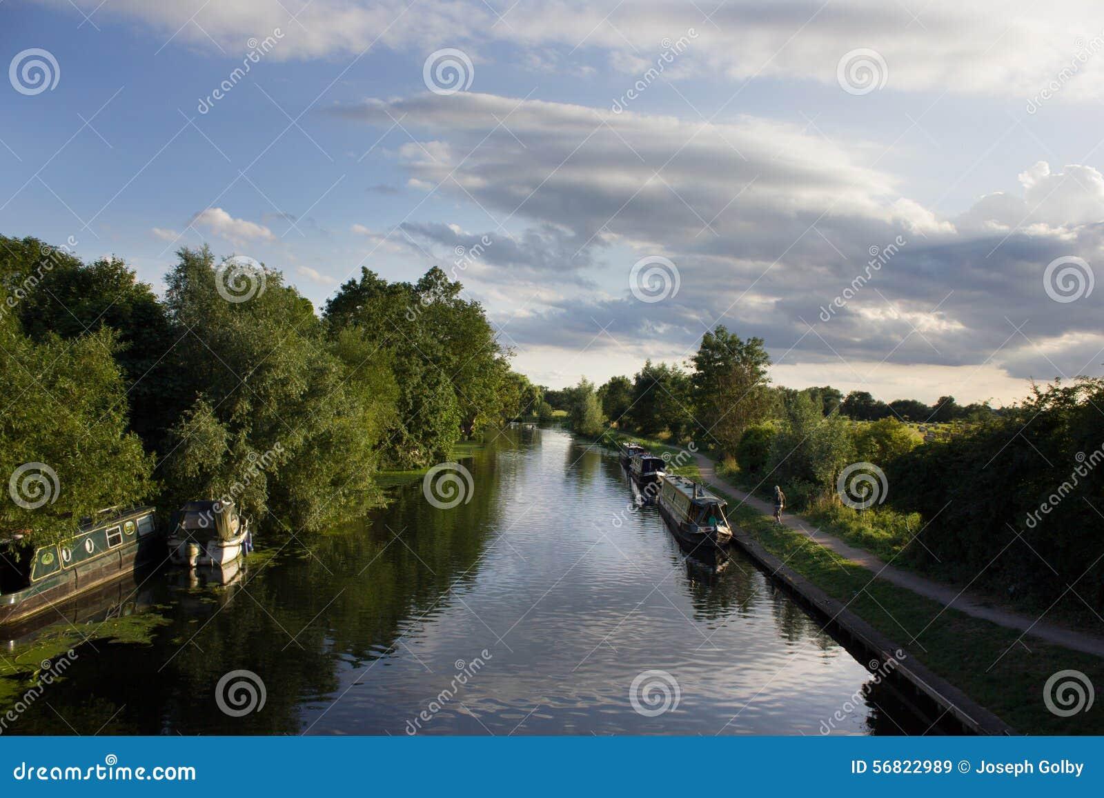 Канал и шлюпки Кембридж, Великобритания