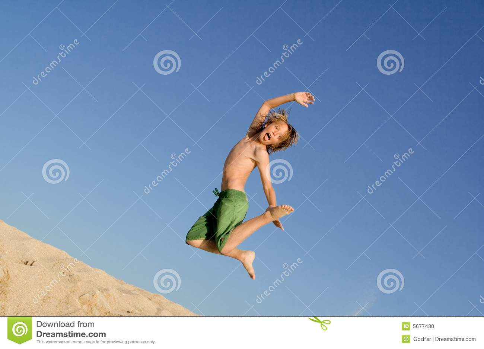 каникула активного ребенка скача