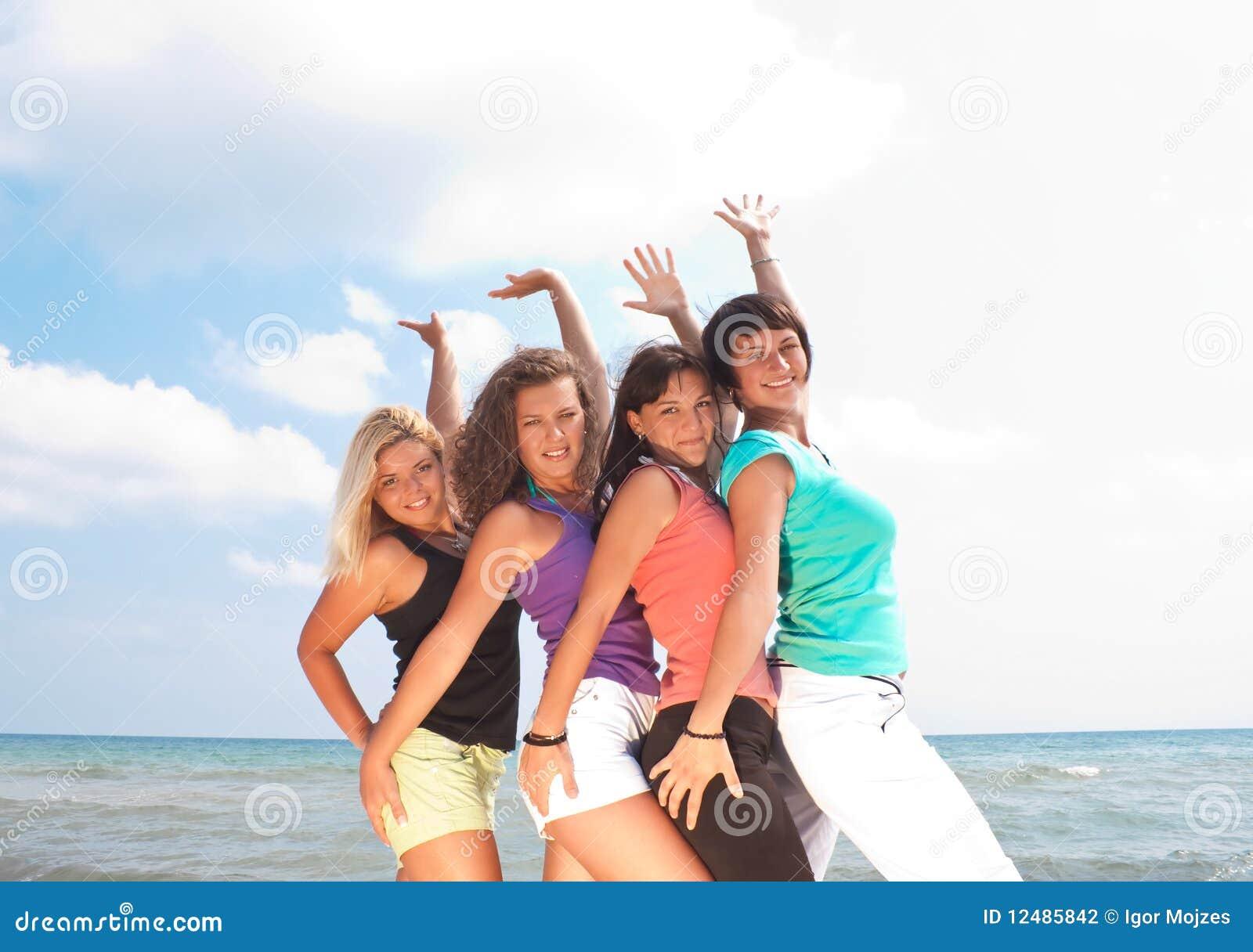 каникула девушок счастливая
