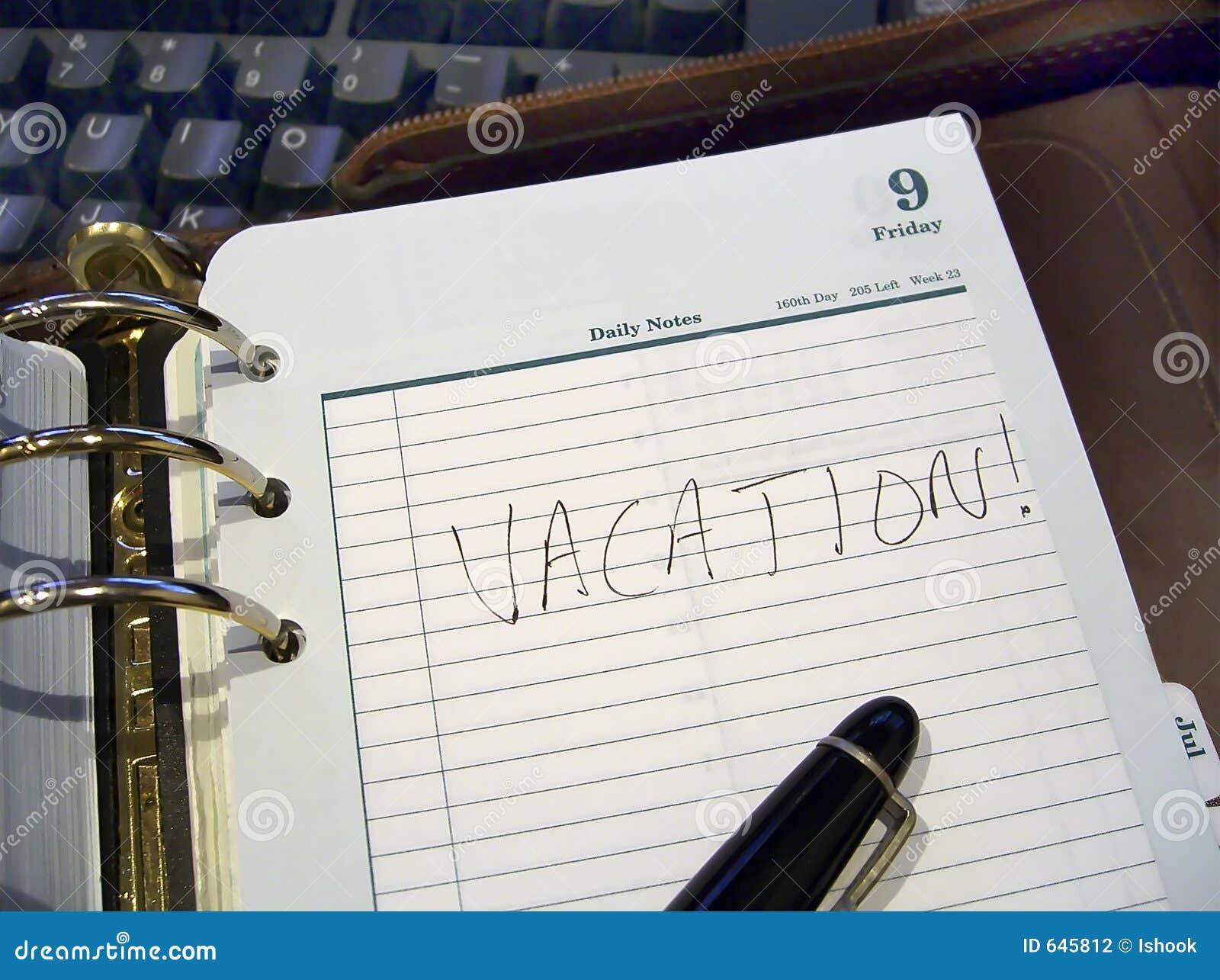 Download каникула плановика стоковое фото. изображение насчитывающей календар - 645812