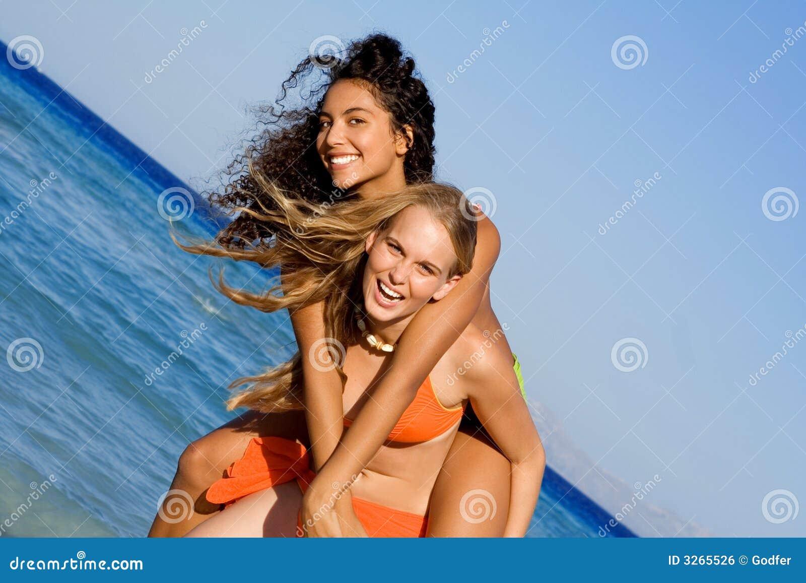 Пляже потехи на