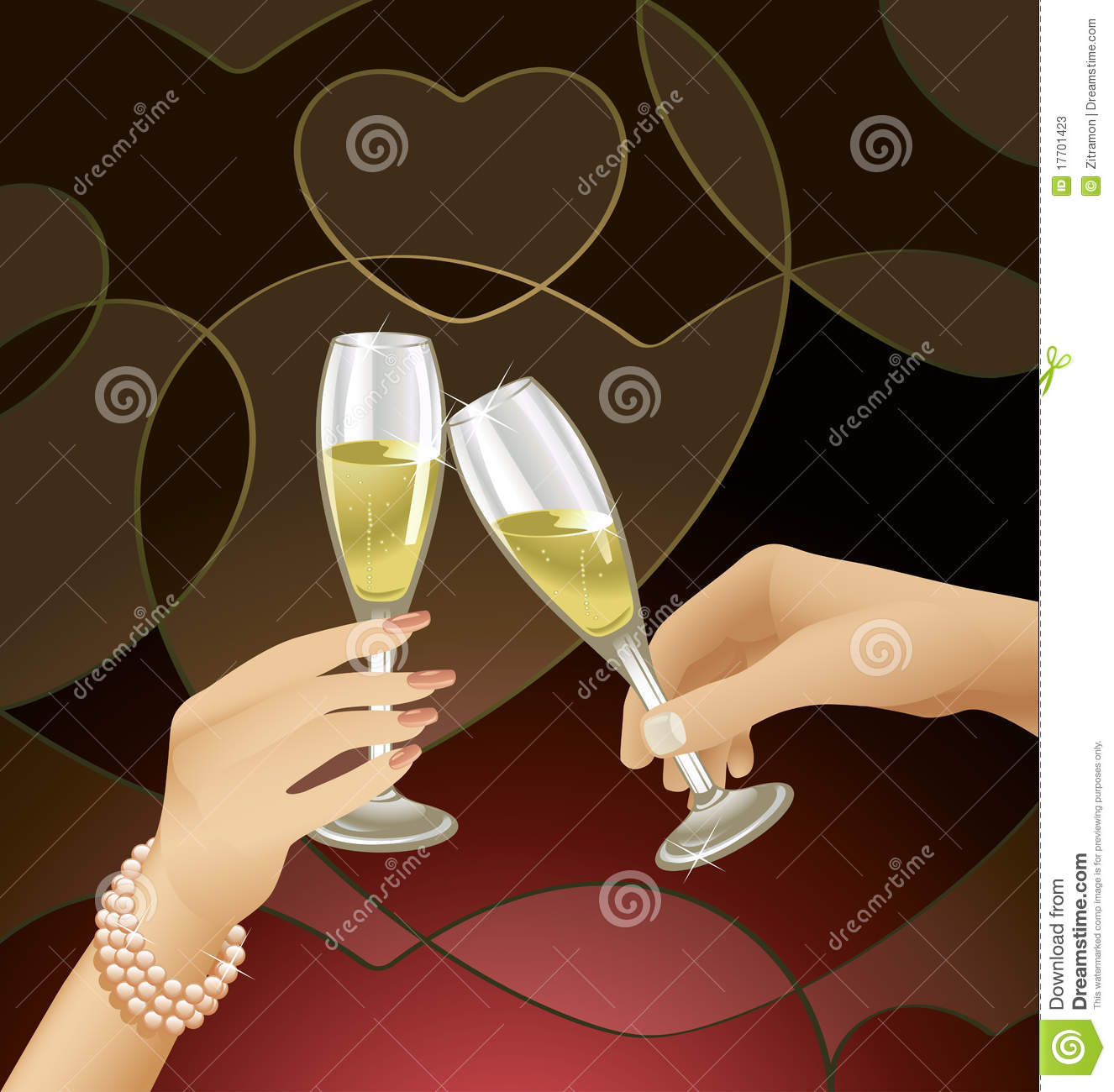 champagne flute cartoon vector images 43 - 800×841