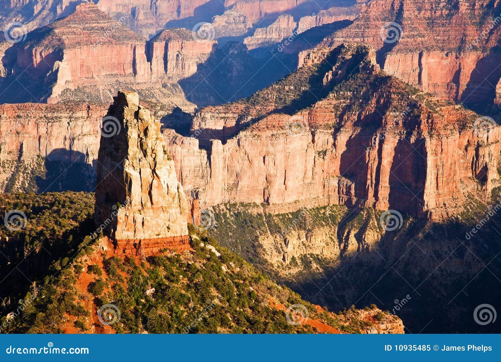 каньон Аризоны грандиозный hayden mt