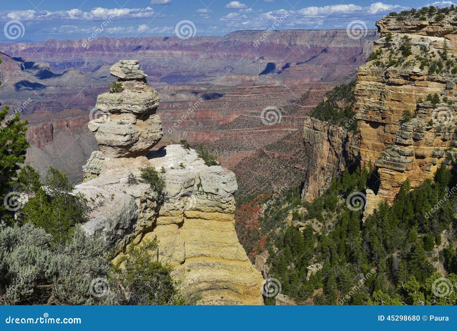 каньон Аризоны грандиозный