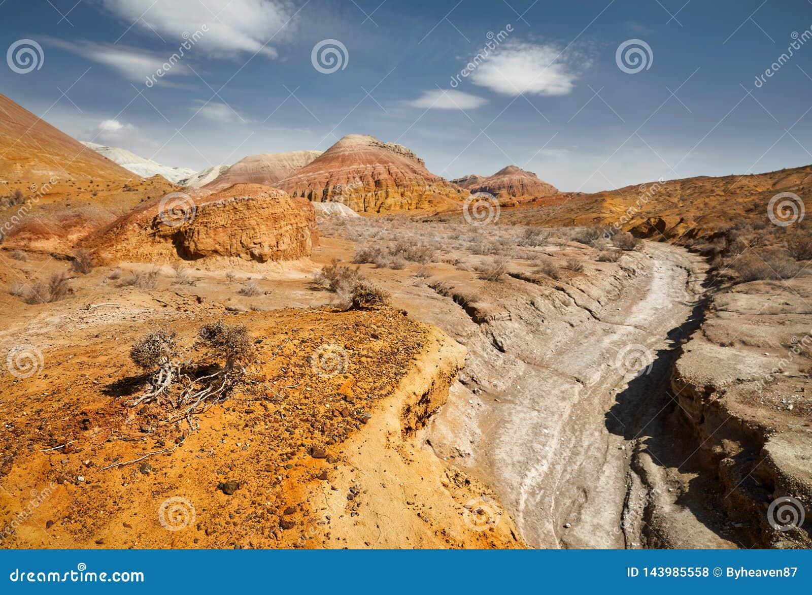 Каньон в пустыне