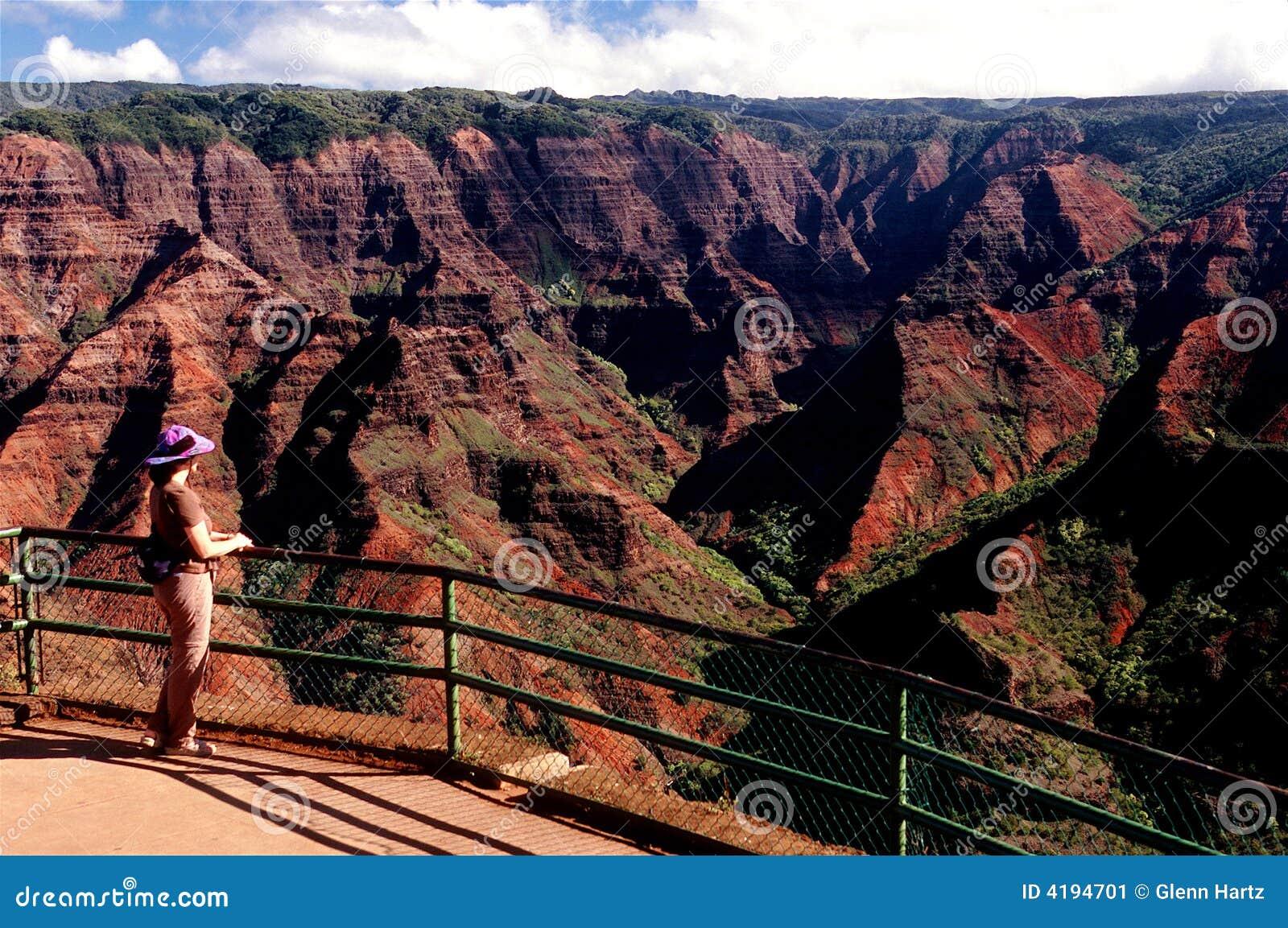каньон Гавайские островы