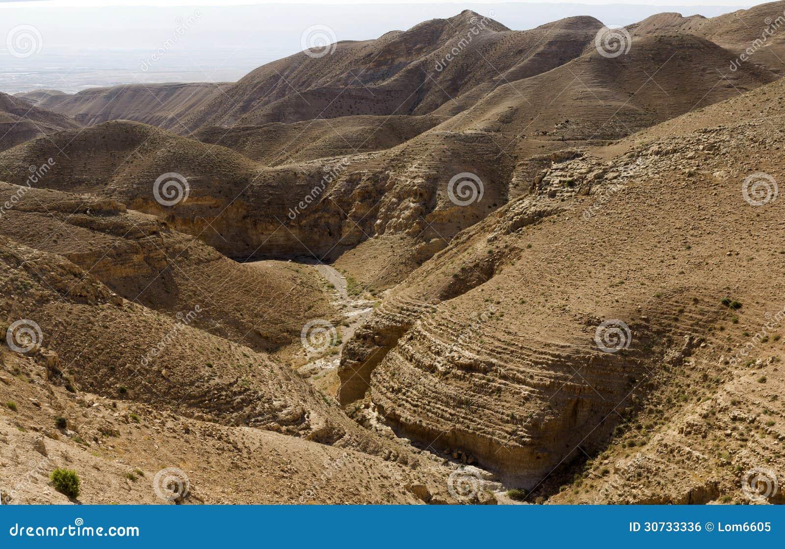 Каньон пустыни вадей Kelt