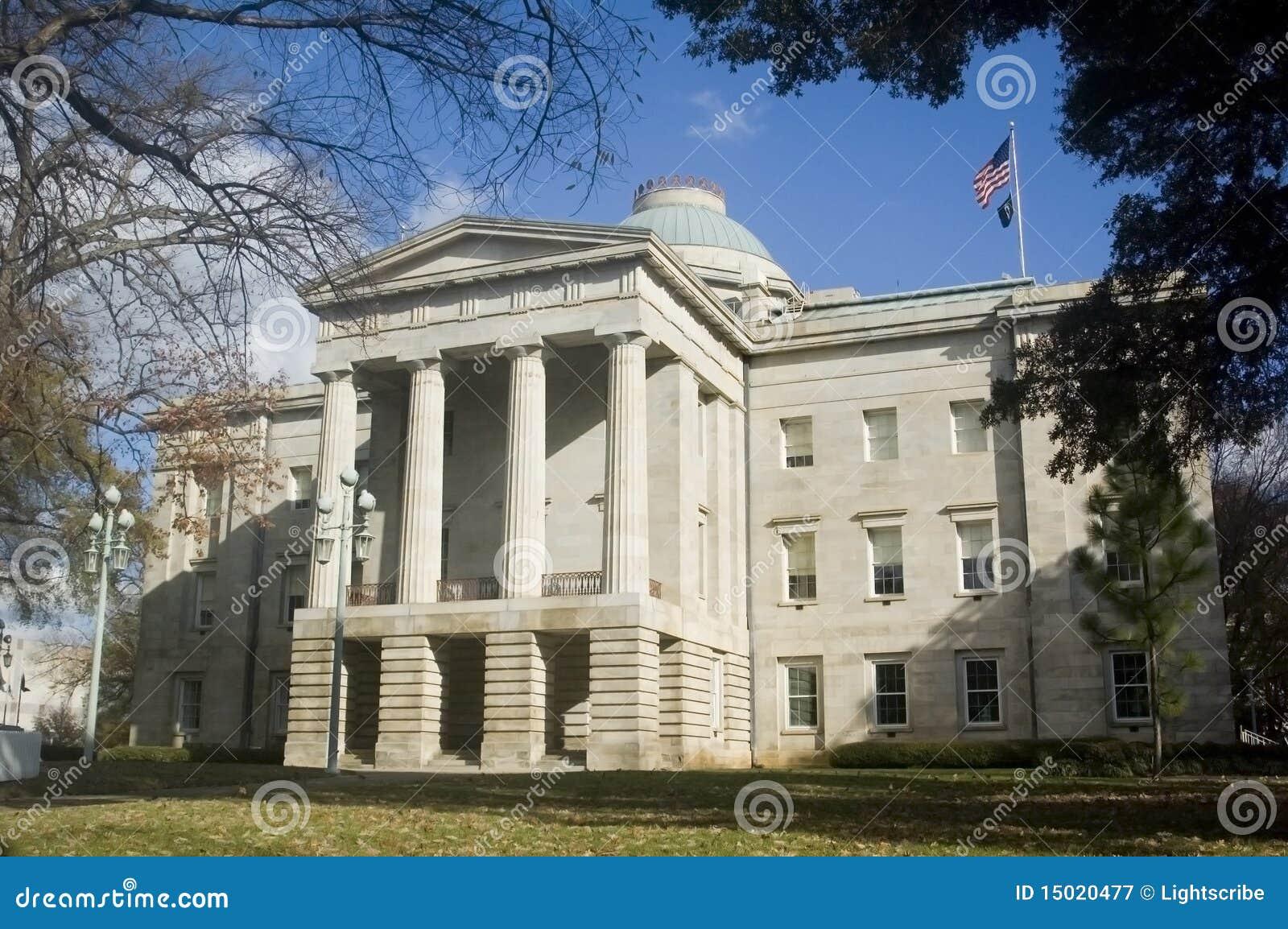 капитолий Каролина северный raleigh здания