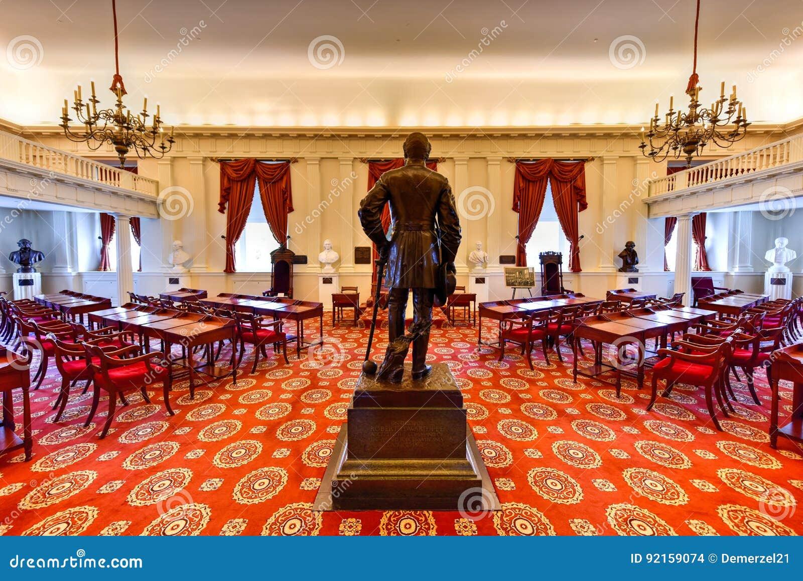 Капитолий положения Вирджинии - Ричмонд, Вирджиния