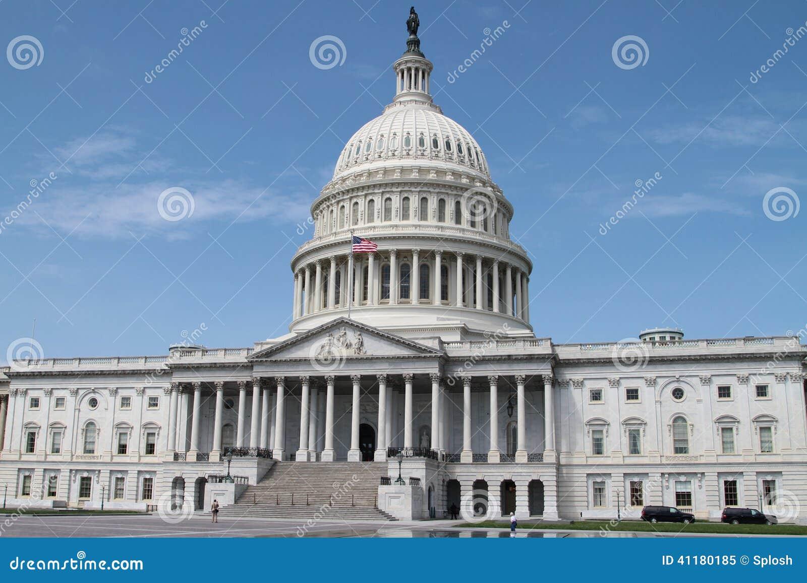Капитолий США - здание правительства