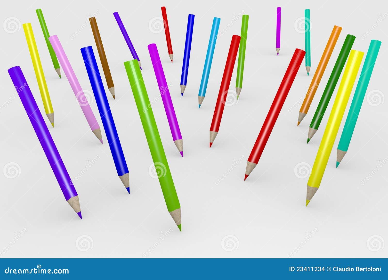 карандаши цвета