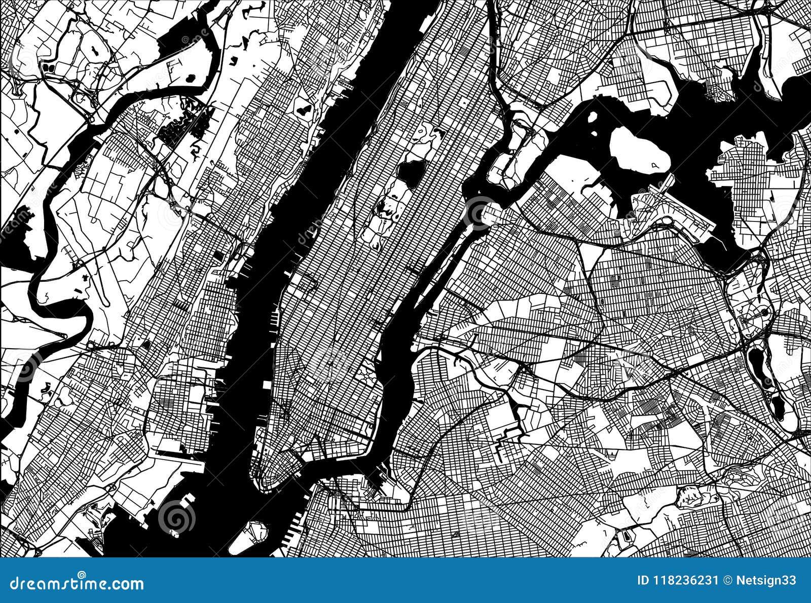 Карта Манхаттана