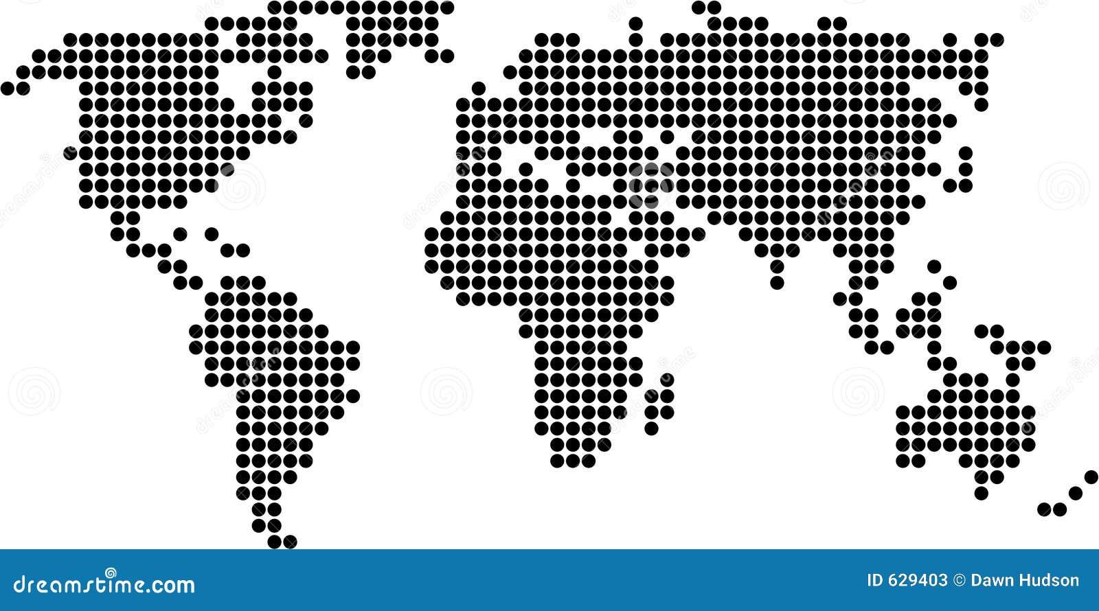 Download карта многоточия иллюстрация штока. иллюстрации насчитывающей ретро - 629403