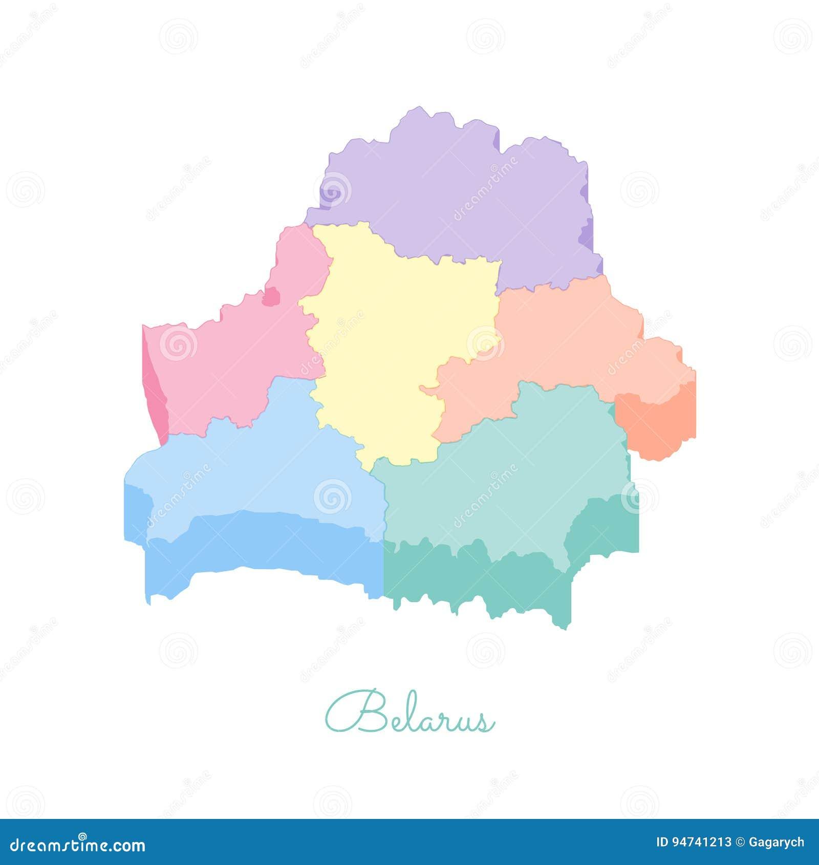 карта беларуси с изображением символа области фото это мешает