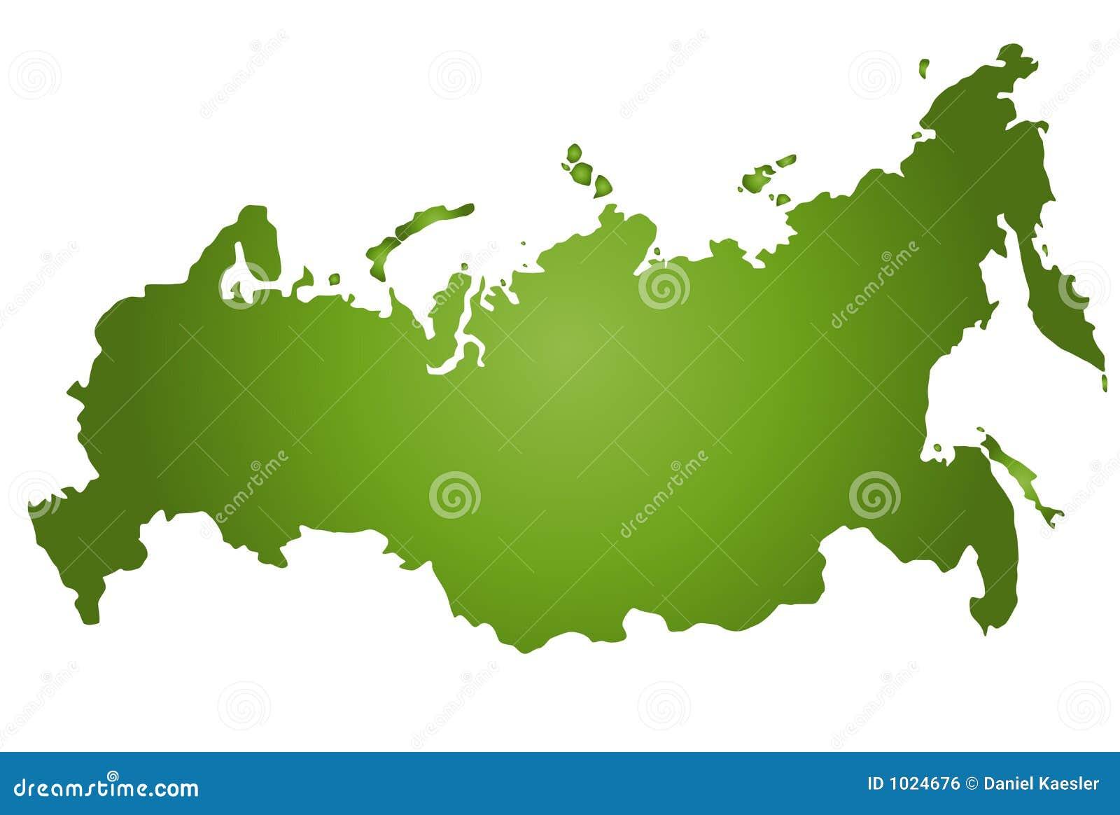 карта Россия