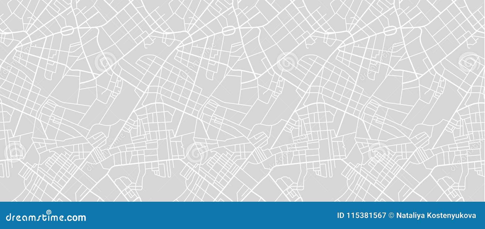 Карта улицы городка