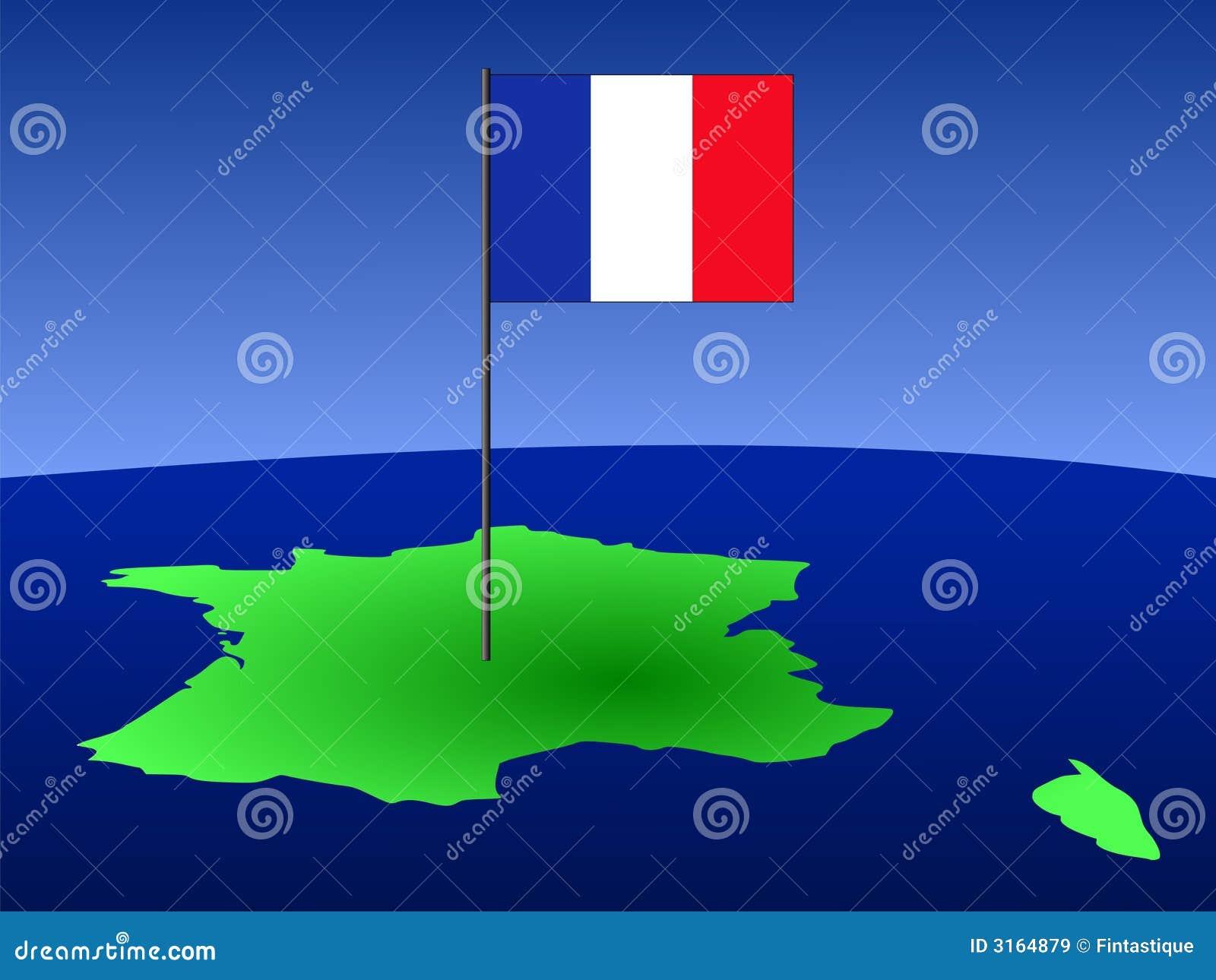 карта франчуза флага