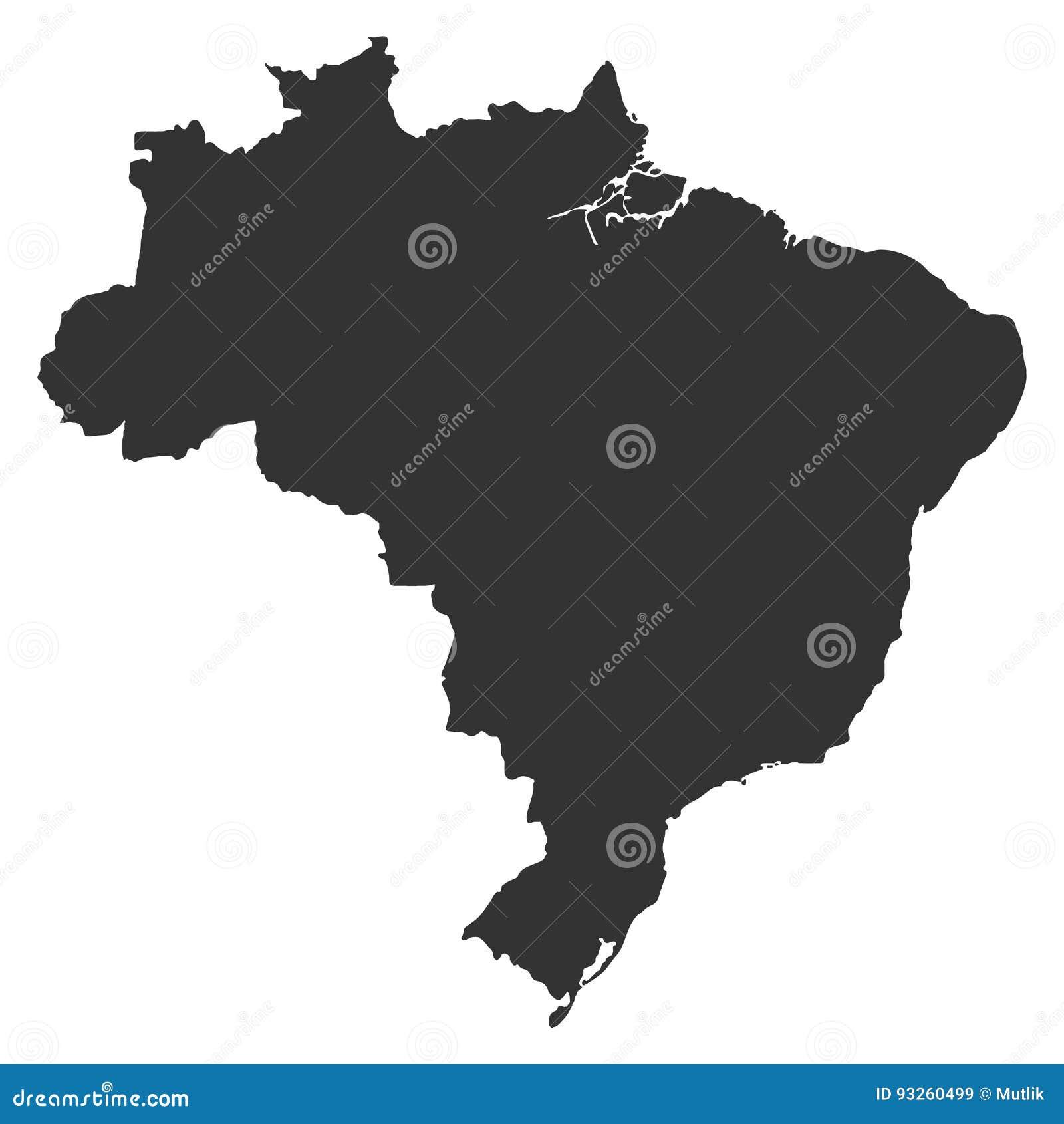 Карта Brazi